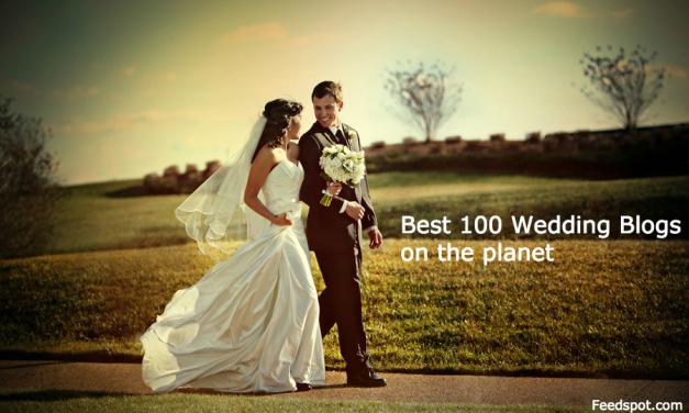 Top 100 Wedding Blogs on the Web