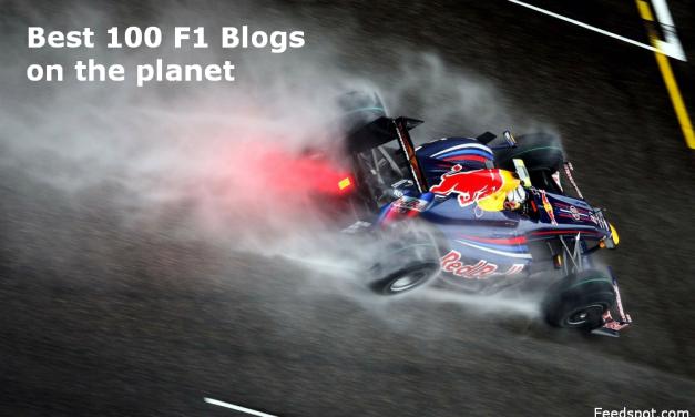 Top 100 F1 Blogs Every Formula One Fan Must Follow