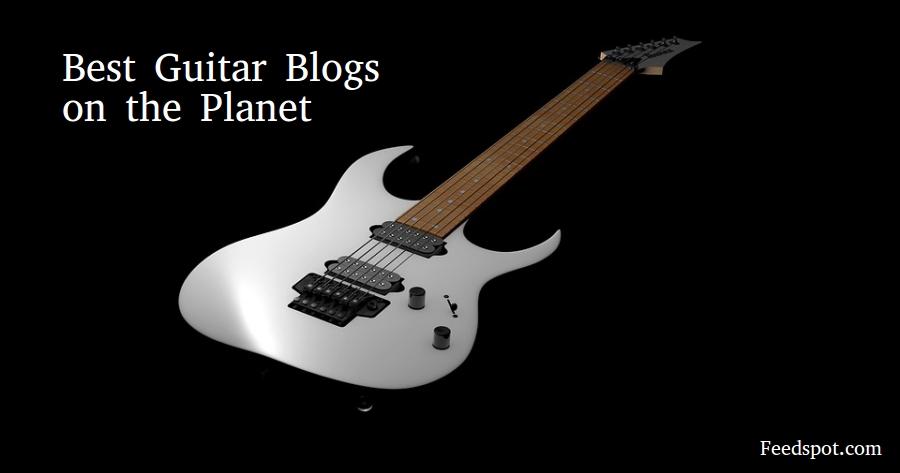 Top 100 Guitar Blogs Websites Newsletters For Guitarists In 2019