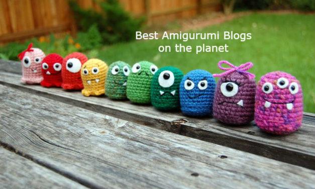 Top 50 Amigurumi Blogs & Websites for Amigurumi Crocheters & Knitters