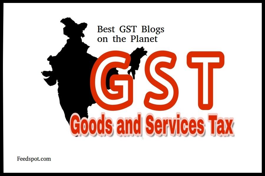 GST Blog Best 25 List | GST Websites in India