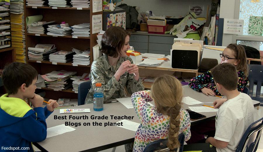 Top 50 Fourth Grade Teacher Blogs Websites Newsletters In 2019