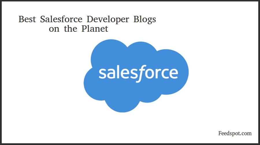 Top 75 Salesforce Developer Blogs & Websites in 2019