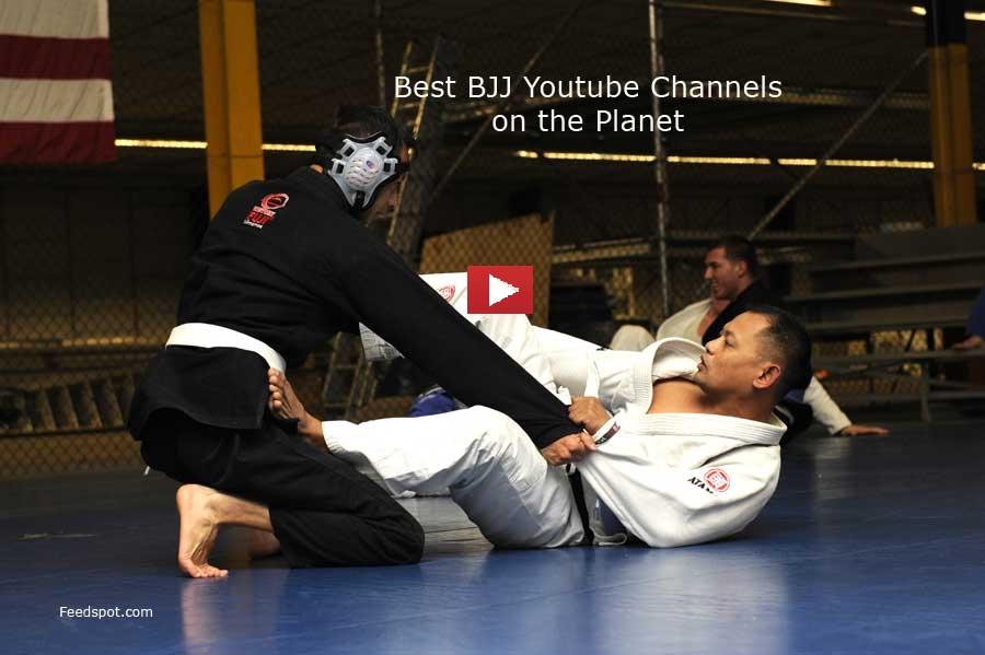 Top 20 Brazilian Jiu Jitsu Youtube channels to Follow | BJJ