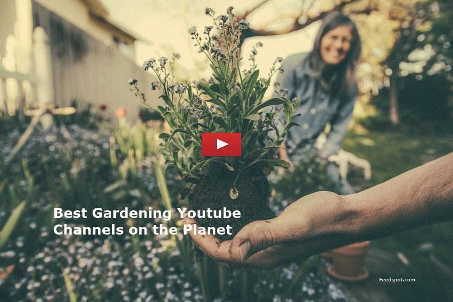 Top 100 Gardening Youtube Channels For Gardening Tips Organic