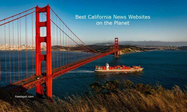 Top 50 California News Websites on the Web
