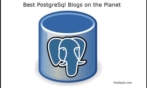Top 10 PostgreSQL Blogs and Websites on the Web