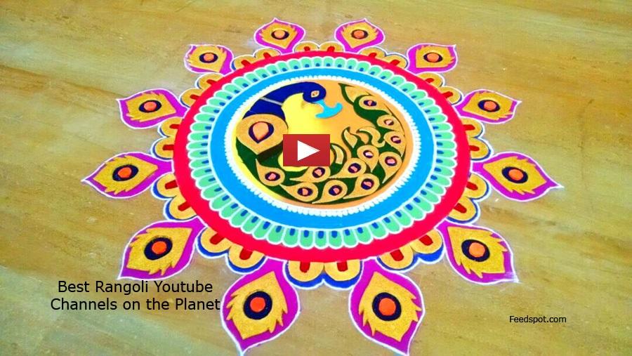 Top 50 Rangoli Youtube Channels To Follow