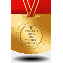 HTML Youtube Channels