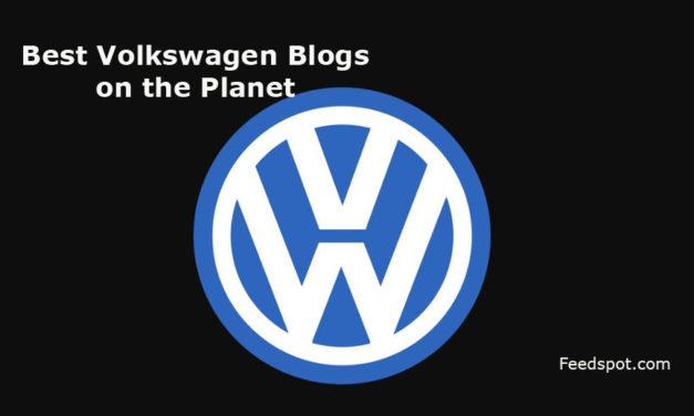 Top 10 Volkswagen Blogs and Websites To Follow in 2018