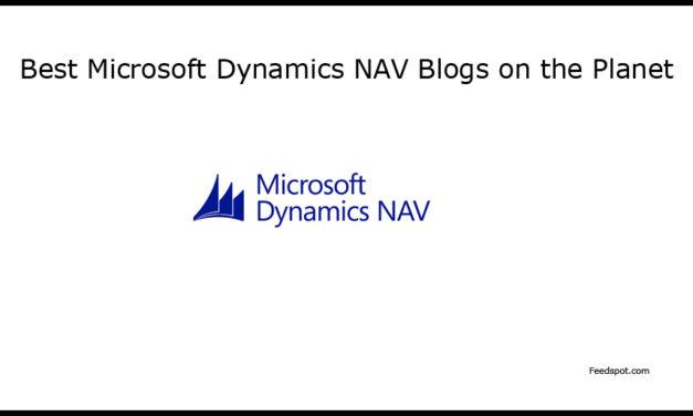 Top 10 Microsoft Dynamics NAV Blogs, Websites & Newsletters in 2018