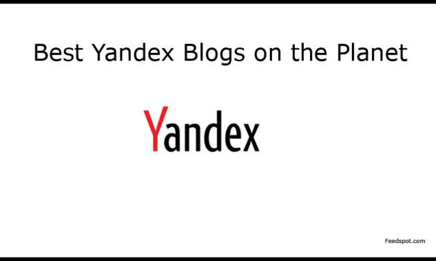 Top 5 Yandex Blogs, News Websites & Newsletters in 2018