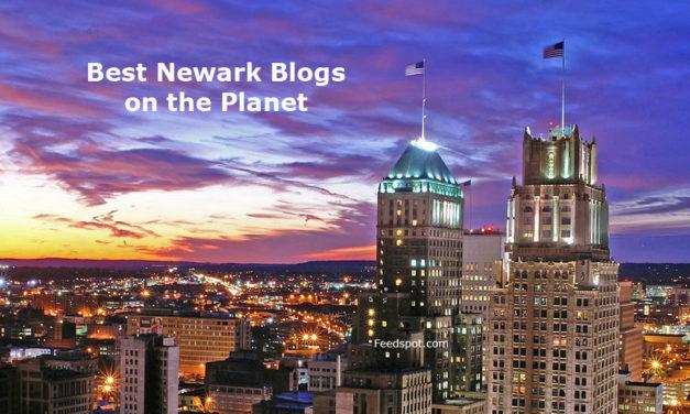 Top 30 Newark Blogs, News Websites & Newsletters To Follow in 2018