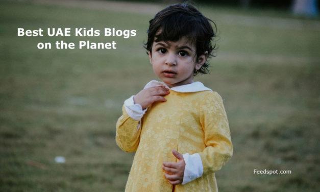 Top 15 UAE Kids Blogs, News Websites & Newsletters To Follow in 2018