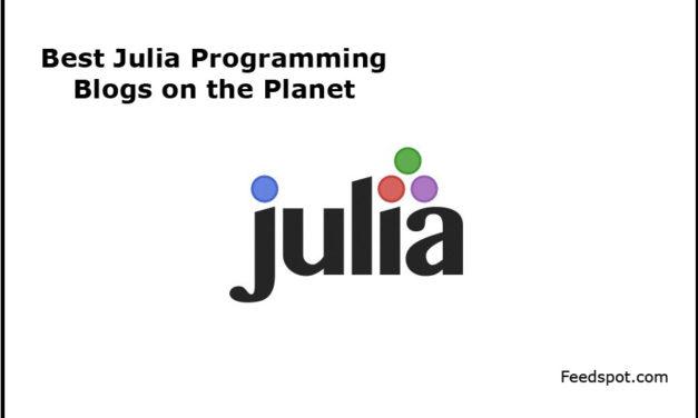 Top 5 Julia Programming Blogs, News Websites & Newsletters To Follow