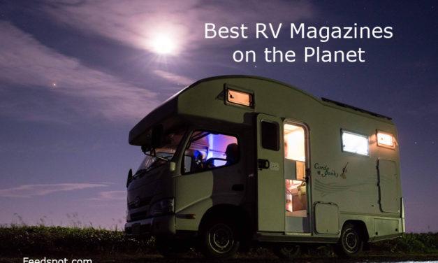 Top 10 RV Magazines And Ezines To Follow