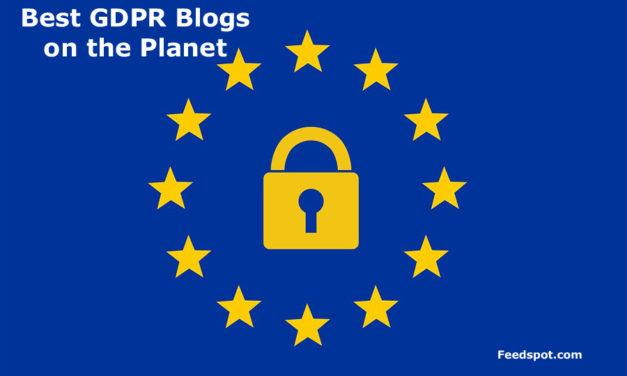 Top 20 GDPR Blogs, News Websites & Newsletters in 2019(General Data Protection Regulation)