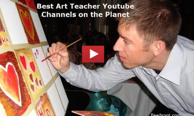 Top 25 Art Teacher Youtube Channels to Follow in 2019