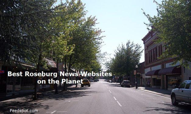Top 5 Roseburg News Websites To Follow in 2020 (City in Oregon)